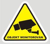 Kamera - objekt monitorovan