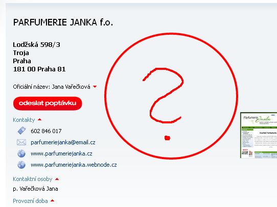 PARFUMERIE JANKA f.o., Praha, Troja - Živéfirmy.cz 2013-10-14 19-18-03