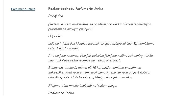 Parfumerie Janka recenze - Heureka.cz 2013-10-15 19-09-34